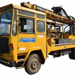 borehole-drilling-truck